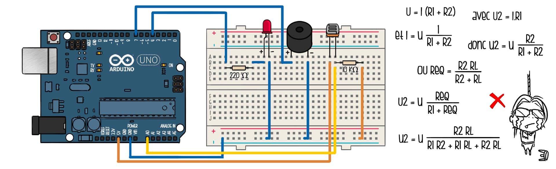 fabriquer un parcours d 39 obstacles laser partir d 39 un arduino