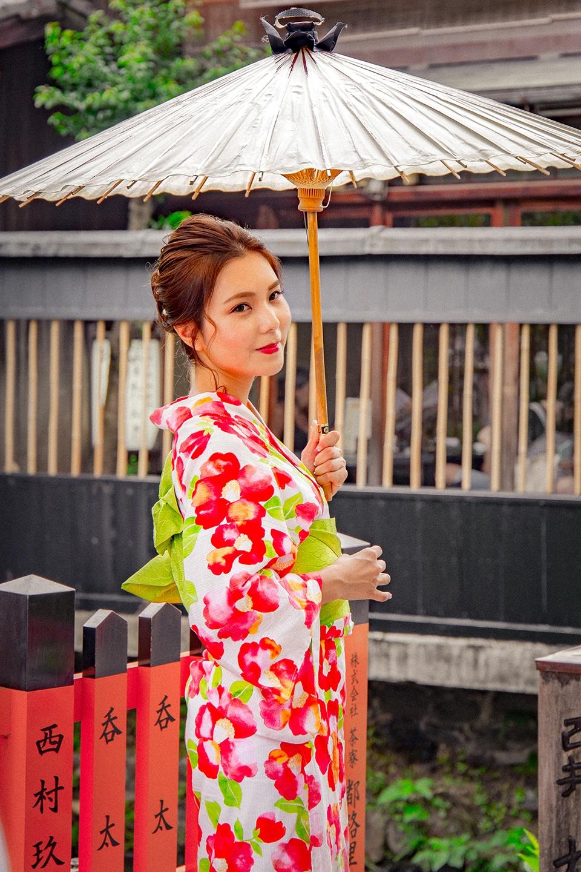 Gion, le quartier des Geishas à Kyoto, Japon