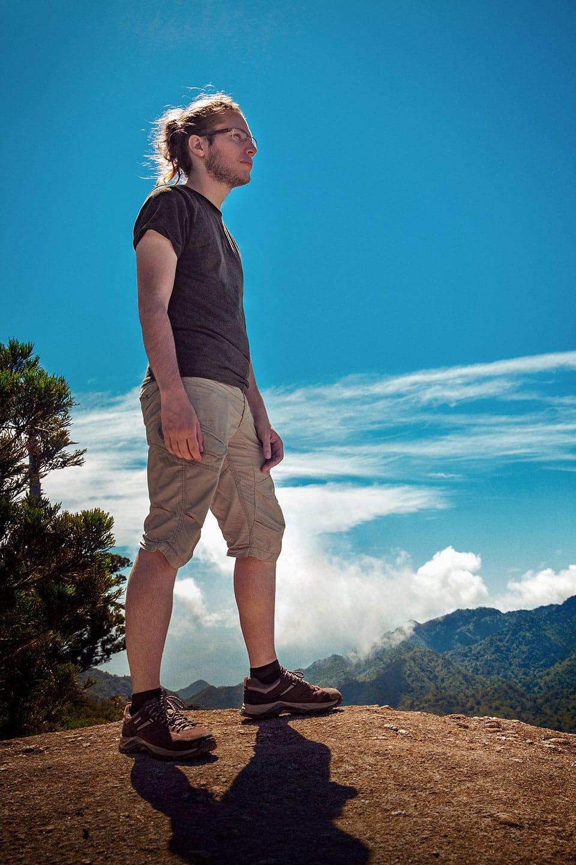 Randonnée décathlon dans les montagnes