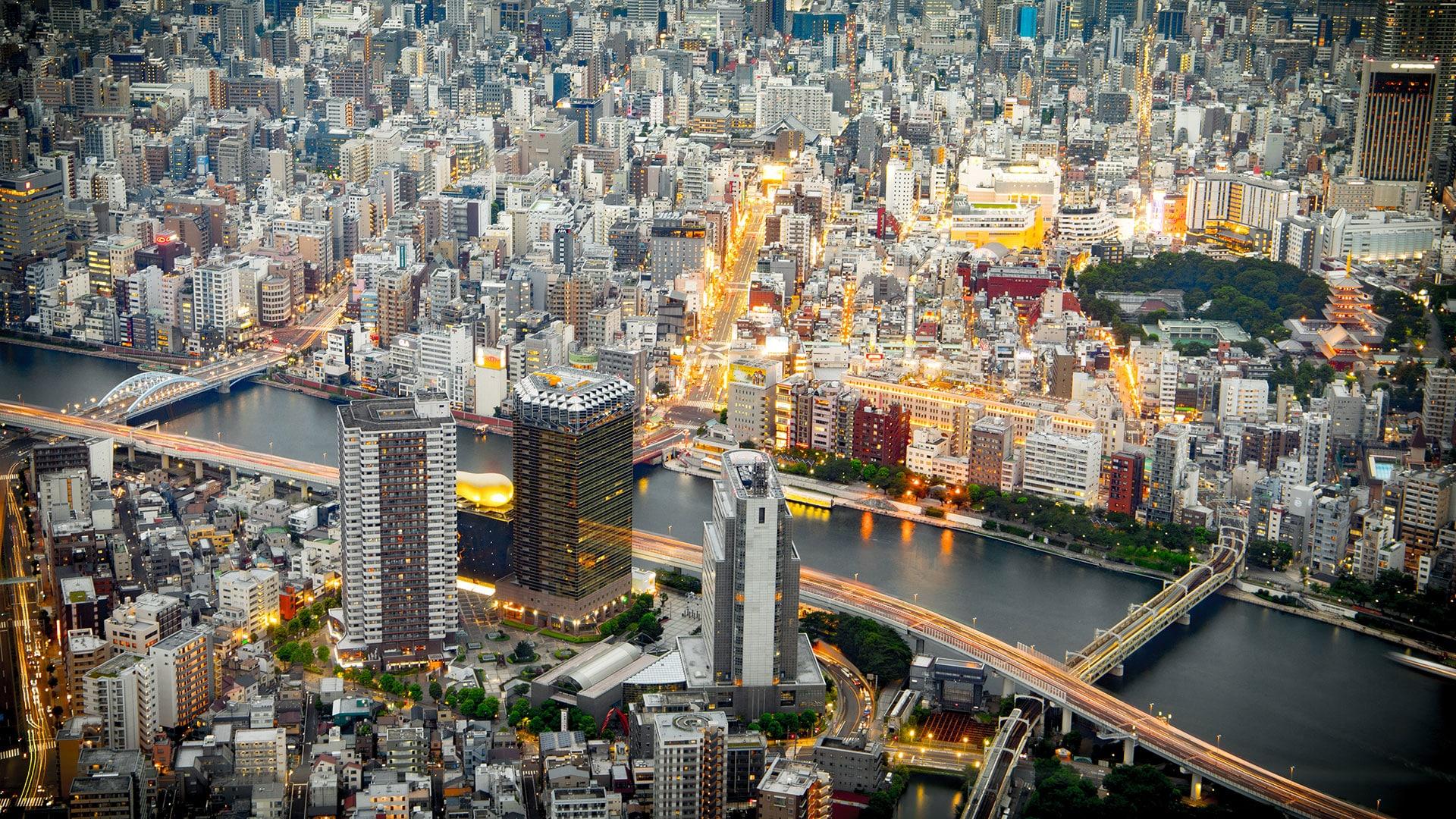 Ville Japon Tokyo Osaka