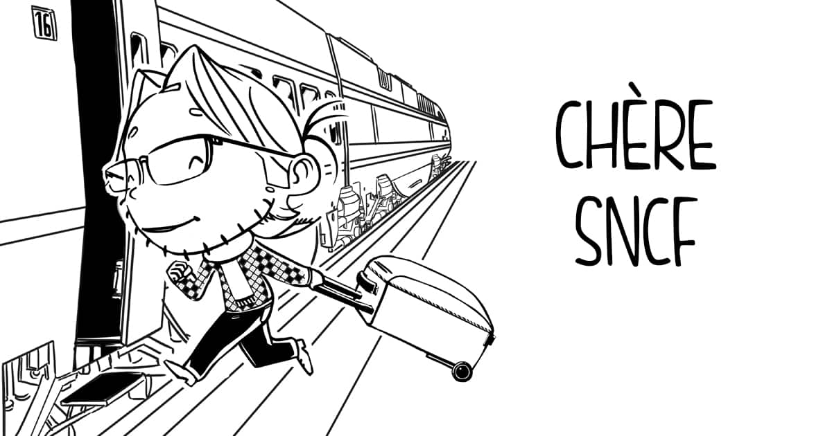 """Vignette de l'article """"Lettre ouverte à la SNCF"""" par Thierry Bouillet"""
